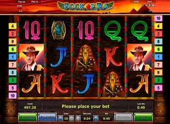 Jeu De Casino Book Of Ra