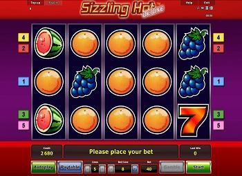 Machine A Sous Gratuit Sizzling Hot