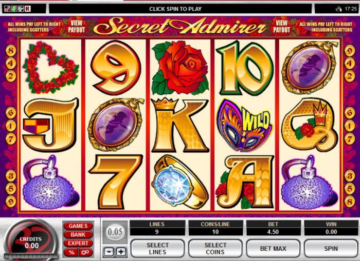 Machine à sous Secret Admirer gratuit dans Microgaming casino