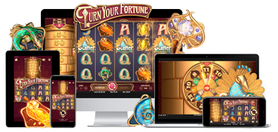 illustration turn your fortune netent