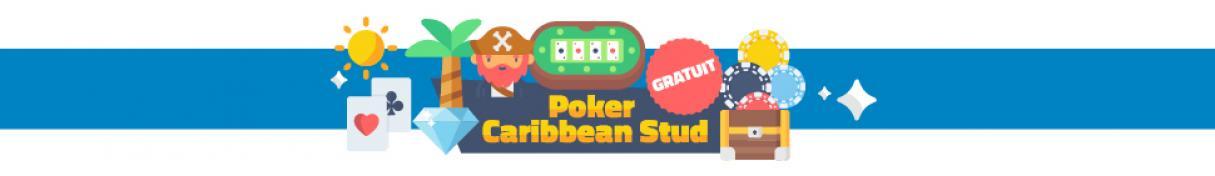 Poker Caribbean Stud gratuit