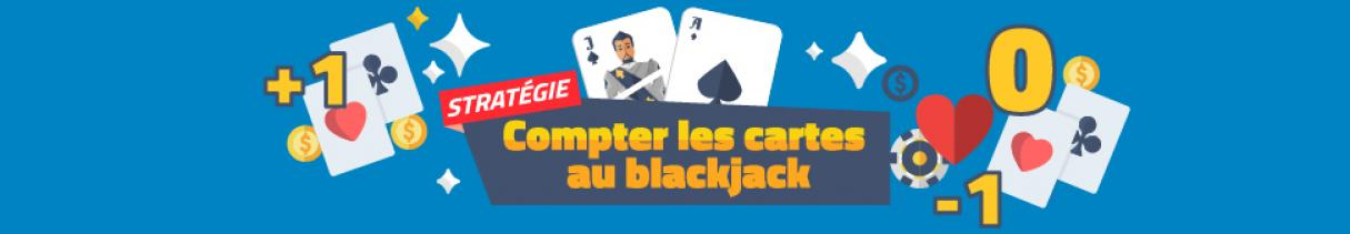 Compter les cartes au blackjack