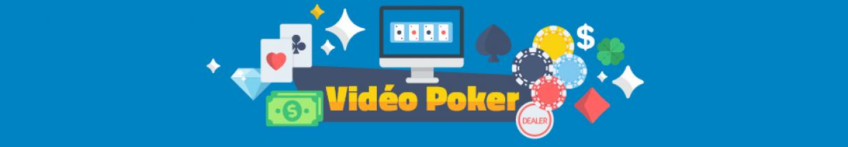 video poker jetons machines cartes