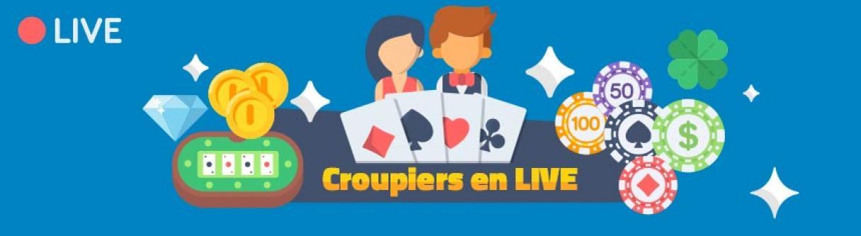 croupier en live casino