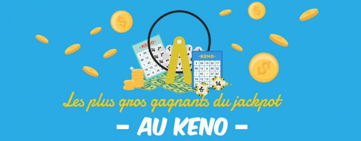 les plus gros gagnants du jackpot au keno