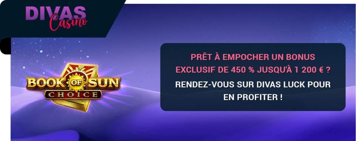 Divas Luck Casino bonus exclusif