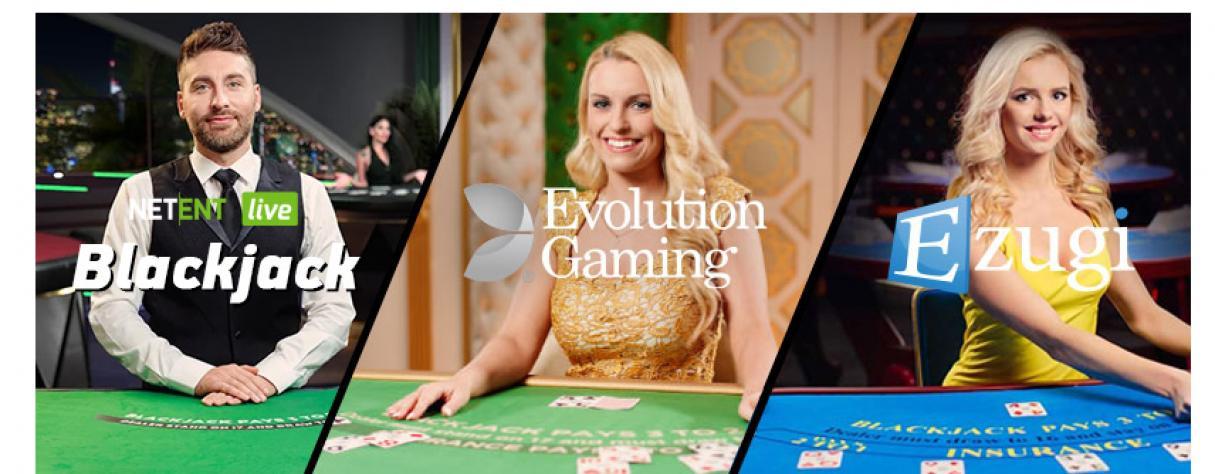 blackjack en ligne live fournisseurs