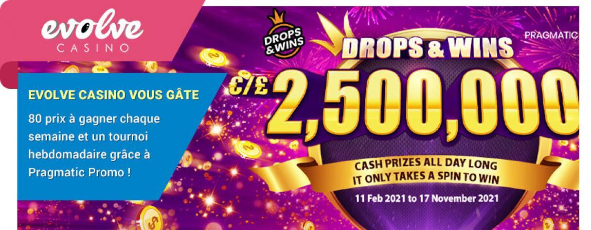 Pragmatic Promo 2021 Evolve Casino