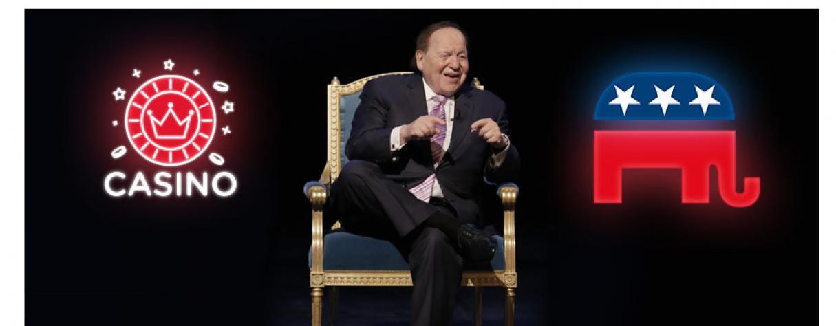 Sheldon Adelson magnat du casino politique