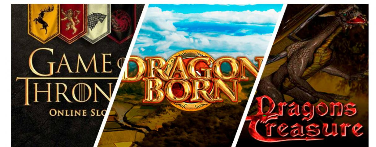 Top 3 machines à sous dragons Game of Thrones Dragon Born Dragons Treasure