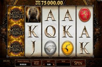 Game of Thrones machine à sous Microgaming