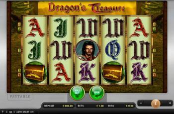 Dragons Treasure machine à sous Merkur