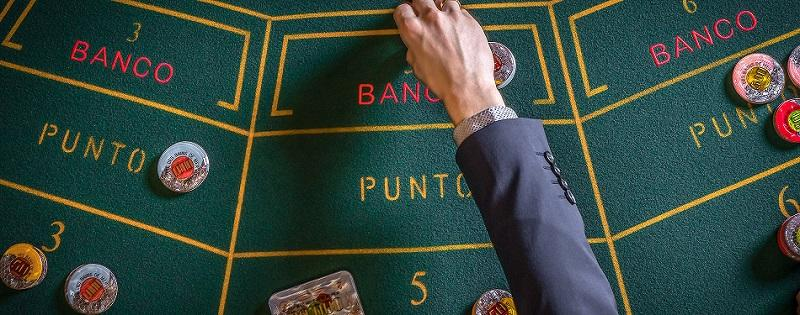 jeu de baccarat de Punto Banco