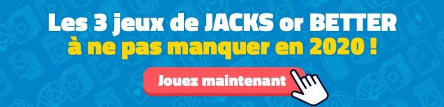 les 3 jeux de jacks or better à ne pas manquer en 2018 jouer gratuitement