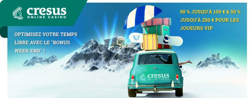 cresus casino weekend