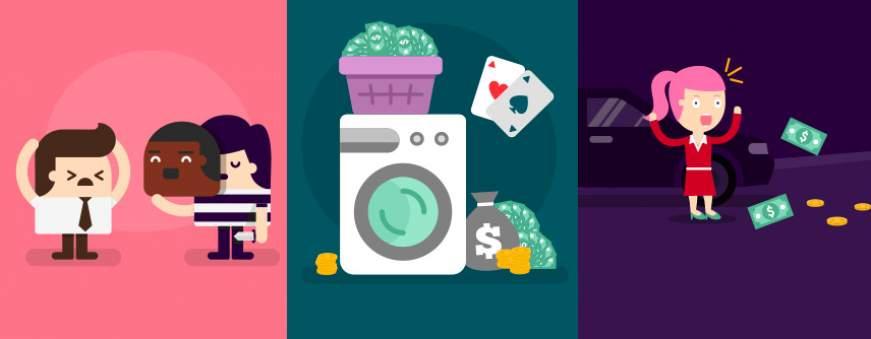 3 faits divers casino personnages
