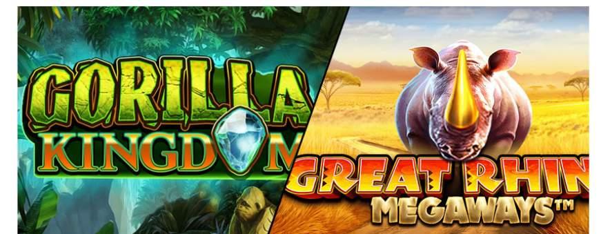 Gorilla Kingdom Great Rhino Megaways