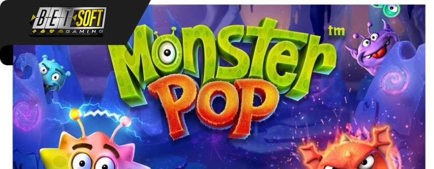 machine à sous monster pop