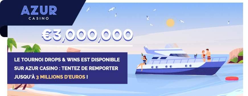 casino en ligne azur promotion