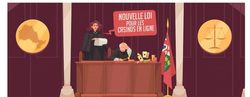 législation jeux d'argent en ligne Ontario